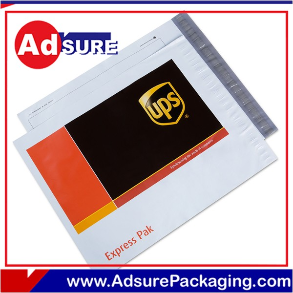 Plastic unique packaging mailer bags/custom envelope printing/plain white poly mailers with coloured print