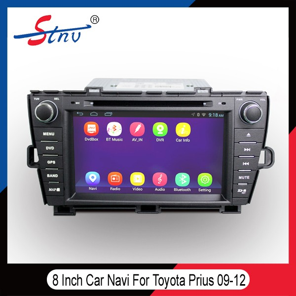 Car GPS Navigation For Prius Toyota With Easy Link/OBD II/ADAS/Radio