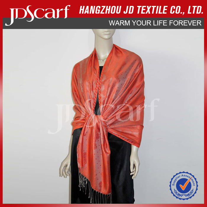 Hot sale factory direct new design fake pashmina shawls
