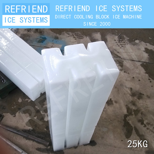3T Direct Cooling Aluminium Evaporator Block Ice Making Machine
