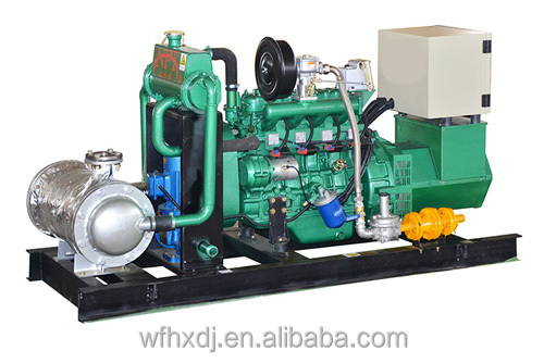 CE approved 150kw mathane biogas generator for sales price