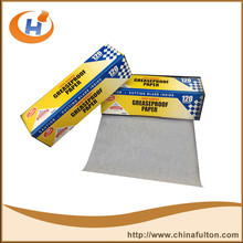 News Printed Food Wrapping Greaseproof paper .