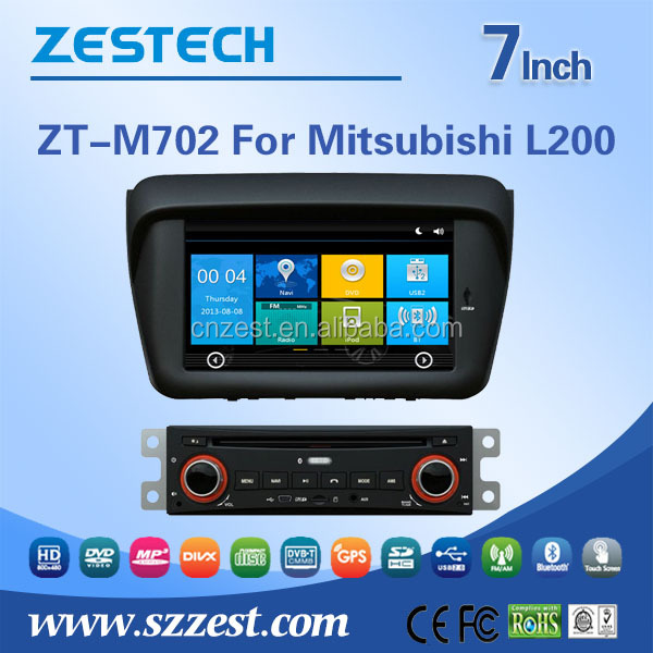 Automobiles autoradio car multimedia system For Mitsubishi L200 car dvd player gps navigation with 3G TV Bluetooth GPS