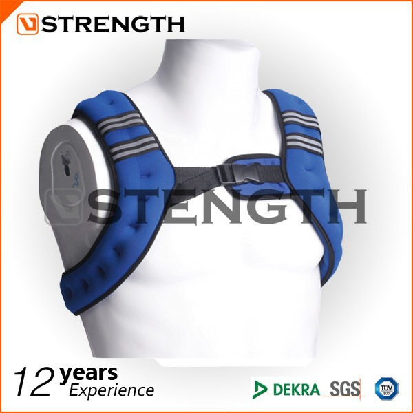 adjustable crossfit neoprene weight vest