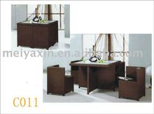 4 Seats Rattan Dinning set MD-111