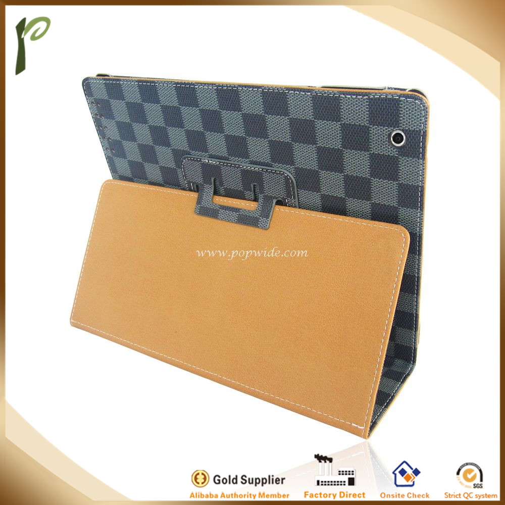 2014 New Popwide Stand Leather Case For Ipad Mini