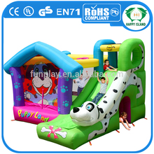 HI newest selling inflatable dinosaur bouncy castle, baby jumpers and bouncers