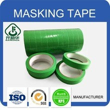Green masking tape for indoor painting