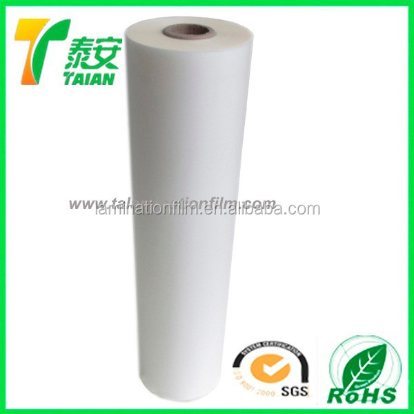 OPP roll film for offset UV printing and cardboard laminating /film xx