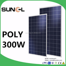 sunel solar panel 300w 310w 320w with 72 photovoltaic cells