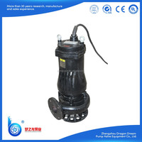 WQ series high efficiency submersible waste water pump
