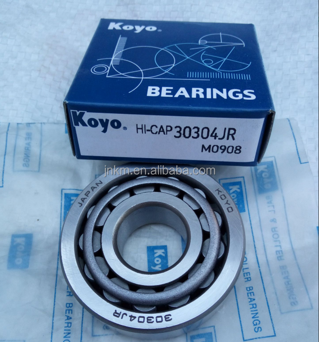 KOYO Brand Single row tapered roller bearings 30304/JR for washing pumps