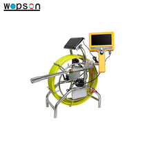 Data hold Underground Sewer Line Inspection camera with 120m cable wheel