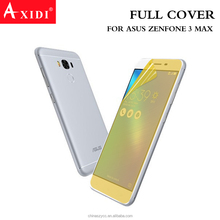 Factory price!high clear bubble free full cover TPU screen protector for ASUS ZenFone 3 Max