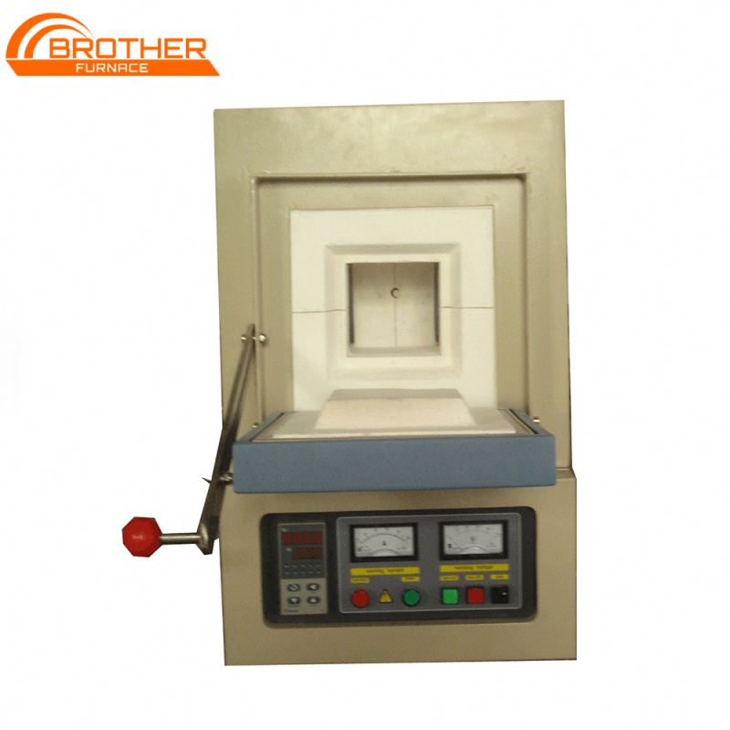 High Temperature <strong>1000</strong> 1200 1600 1800 Degree Electric Resistance Box type Laboratory Muffle Oven, Small Ceramic kiln