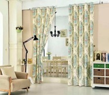 Different kinds curtains and drapes valance african design jacquard window curtains