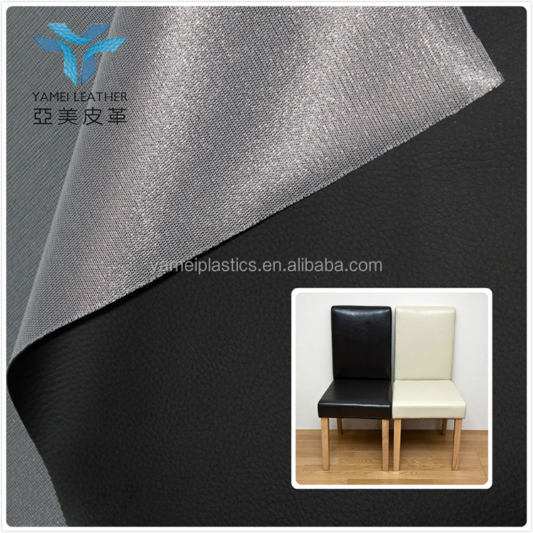 abrasion resistant DE90 PU synthetic leather material for making dining chair