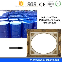 Polyurethane foams rigid foam polyether polyol price for Imitation Wood
