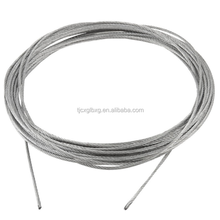 Cheap supply concrete reinforced steel wire 201 304 316 stainless steel wire rope best selling
