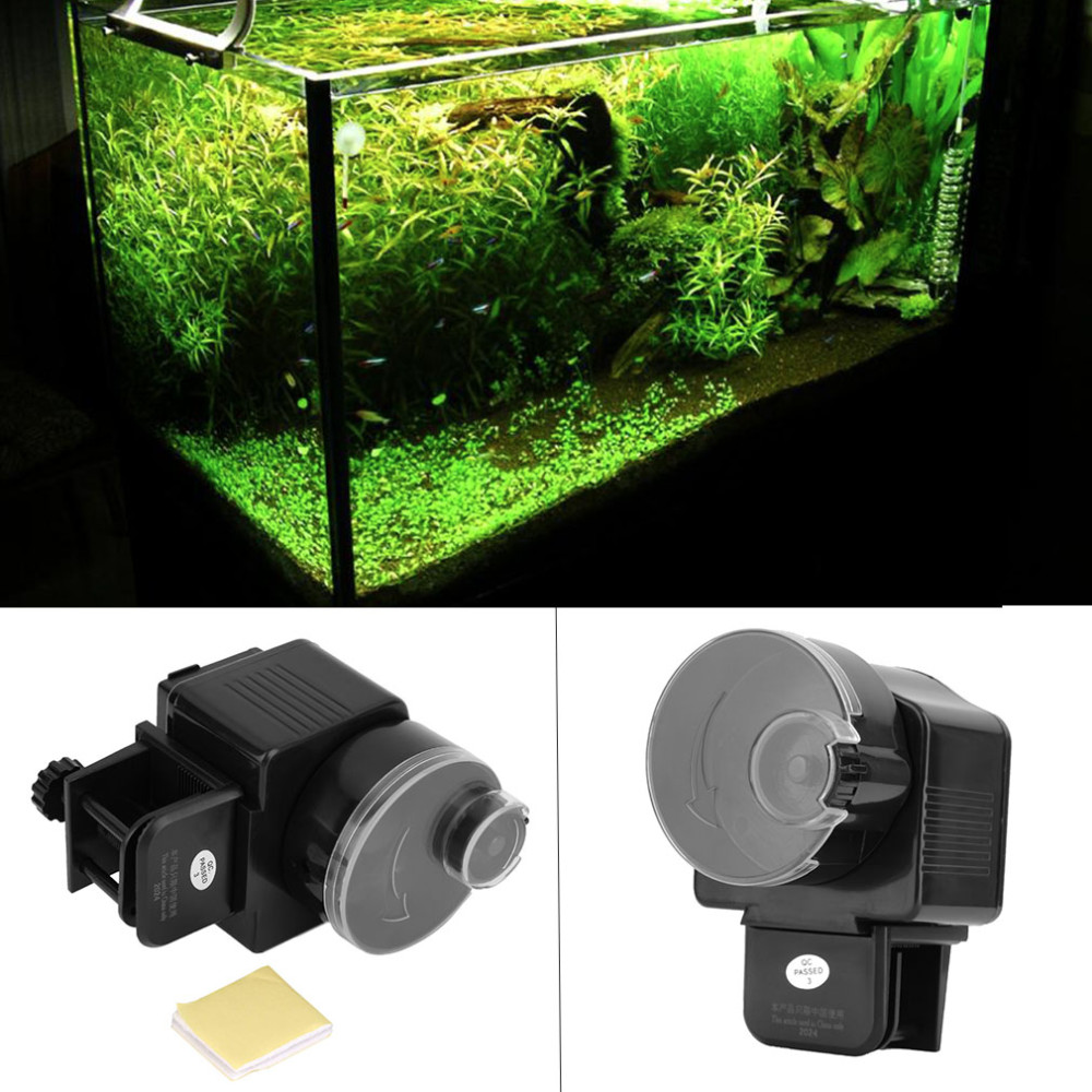Digital LCD Automatic Aquarium Tank Automatic <strong>Fish</strong> Feeder Timer Food Feeding Electronic <strong>Fish</strong> Food Feeder Timer <strong>fish</strong> supplies