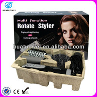 Alibaba Wholesale Automatic Rotating Electric Hair Brush, electric hair curling brush