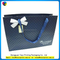 Customized printed high quality wedding paper bag