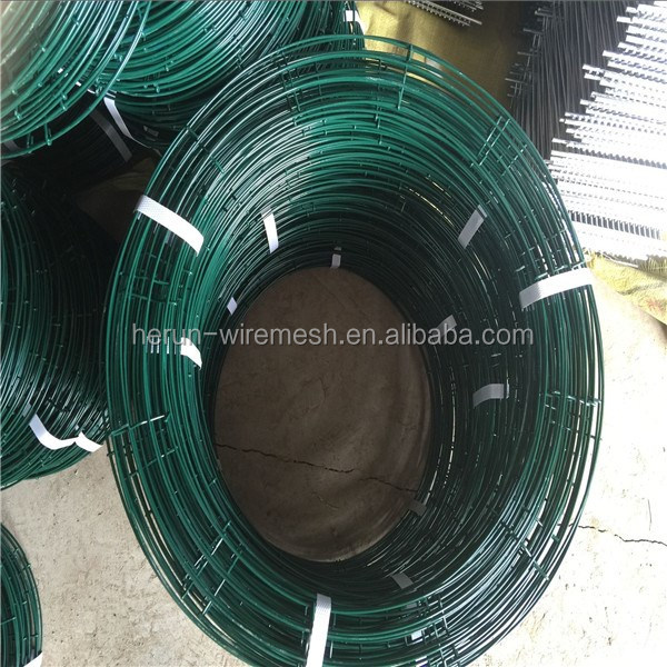 HR 4 coils dark green metal wire wreath forms