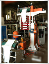simple type extruder PE high-low pressure industrial bag packing plastic film blowing machine