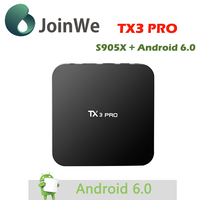 Tx3 Pro Kodi 16.1 Android 6.0 Amlogic S905x Tv Box Mini Free Porn Video Wifi Ott Tv Box Vp9 Hdr 4k Kodi H.265