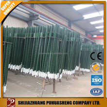 wholesale China trade galvanized steel deer fence post