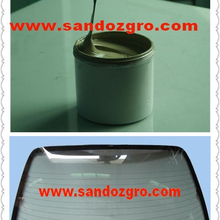 Thick film paste for windshield defogger