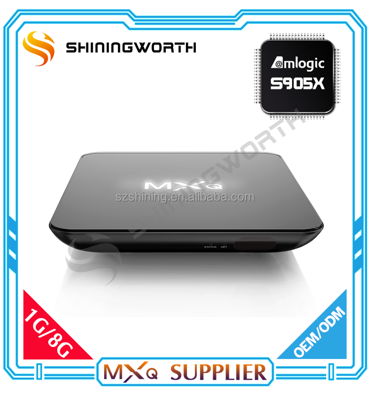 Hot Selling S905X Quad Core KODI 4K MXQ Pro Android TV Box/Android TV Box MXQ/MXQ TV Box Android Wholesale