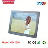 Big size LCD LED screen high-definition digital frame digital photo frame digital picture frame 15 inch YYD-1506