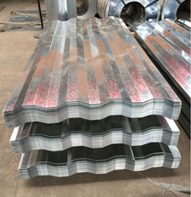 Zinc Coating Galvanized Corrugated Steel Plate For Roofing