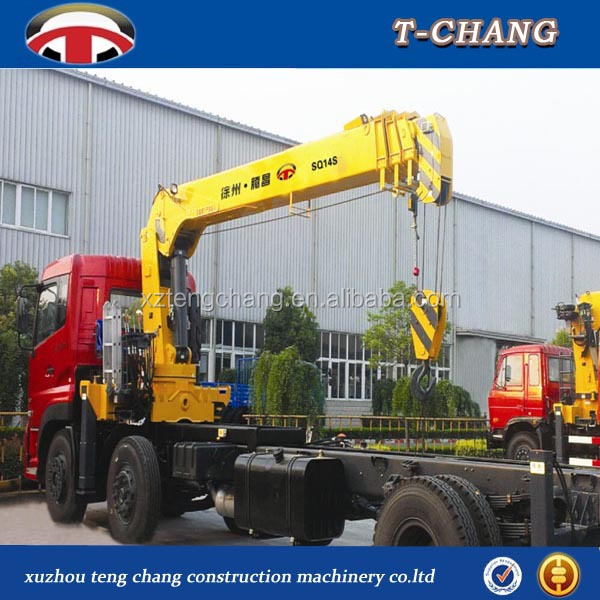 14ton lift crane/hydraulic/lifting appliance cheap price with wheel mounted crane