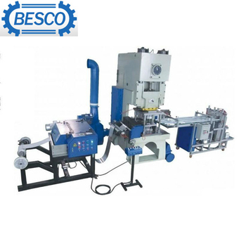 high quality semi-automatic aluminum foil container machine 45t CE ISO certified