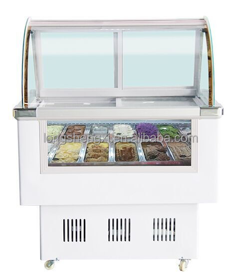 High quality Ice cream display refrigerator/freezer/chiller showcase