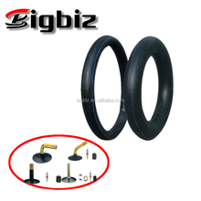 Super Cheap China butyl rubber 3.00-17 Natural Motorcycle Inner Tube