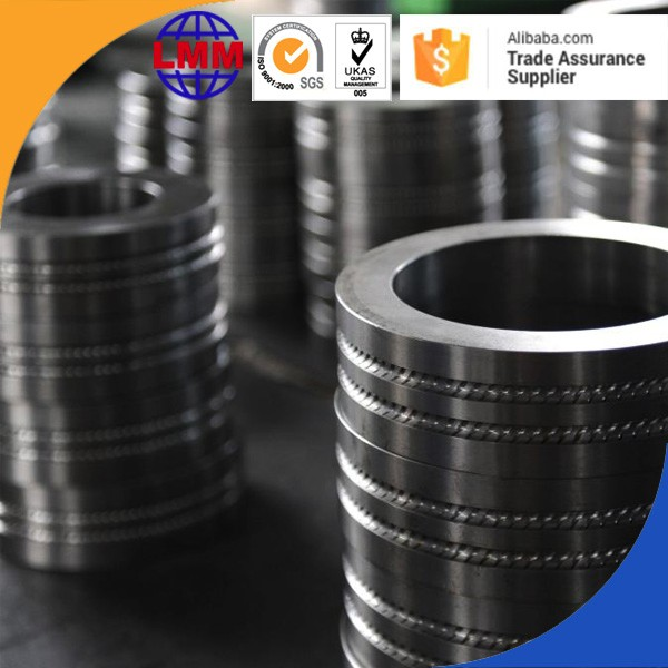 High quality of tungsten carbide roll ring with groove machining and rib machining of composite cemented carbide roll rings