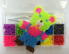 hot latest hama beads, newest children loom kit, wholesale rubber beads