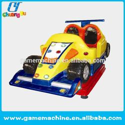 car driving play ride Coin operated theme parks rides Ferrari fun kiddie ride