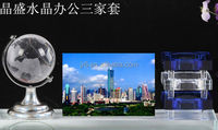 Crystal Pen holder with picture for business gift office supplies
