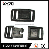 Injection Moulding Plastic Safety Buckle Parts