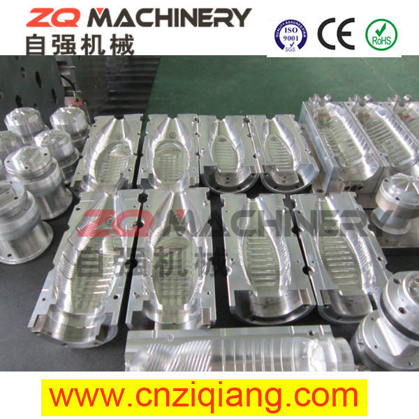 2015 bottle blow mould for variety flip flops mould