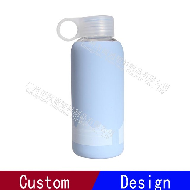 Safety BPA Free Silicone Kids Glass Water Bottle Wholesale