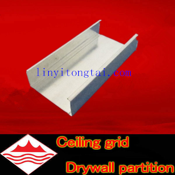75 c studs c channel,drywall partition profile ,c channel & u channel for drywall