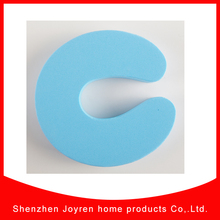 baby home safety OEM shape EVA door stops