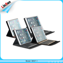 High Quality PU Leather Bluetooth Keyboard Case For iPad Pro 9.7 Inch With CE RoHS
