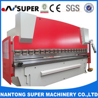 WC67Y-300/6000 CNC Control Hydraulic Metal Sheet Press Brake