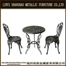 Shanghao Bistro/patio set outdoor furniture 3 pieces 1 table with 2 chairs